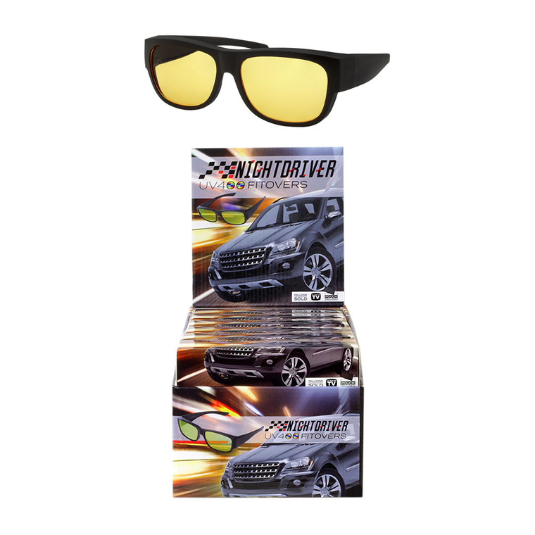Night Driver Fitover Sunglasses + Display