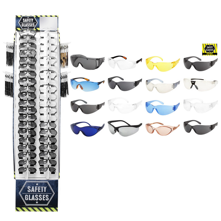 Safety 40 PCS Display + Glasses