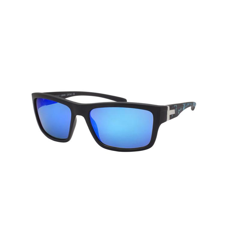 Men's Sport Splatter Design Sunglasses
