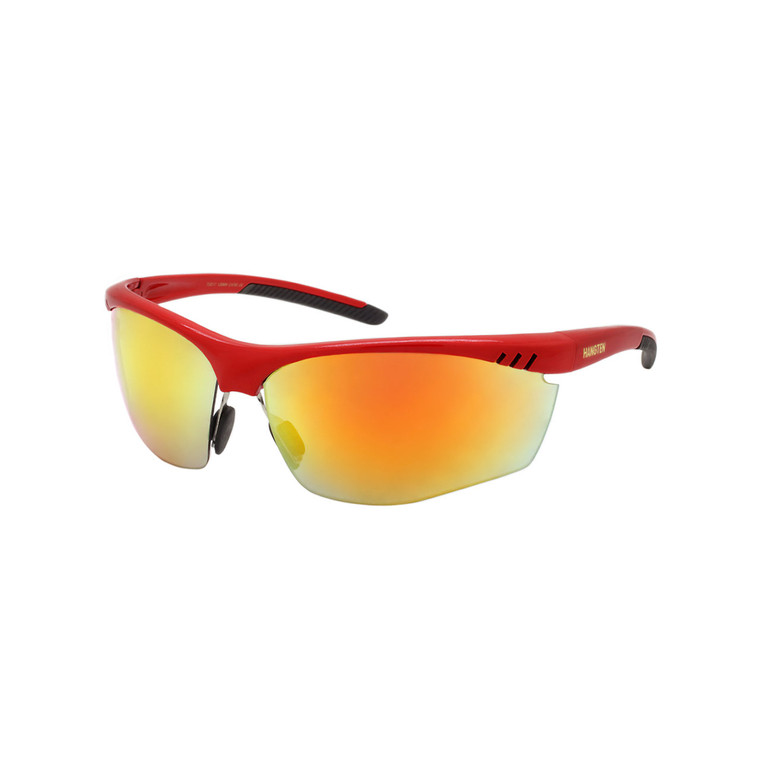 Men's Hang Ten Red Sport Sunglasses
