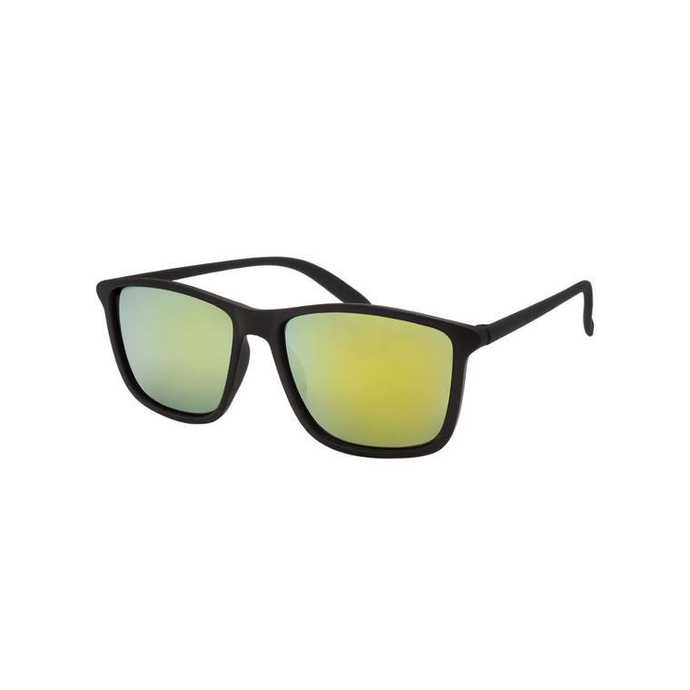 Men's Square Mirror Lens Sunglasses
