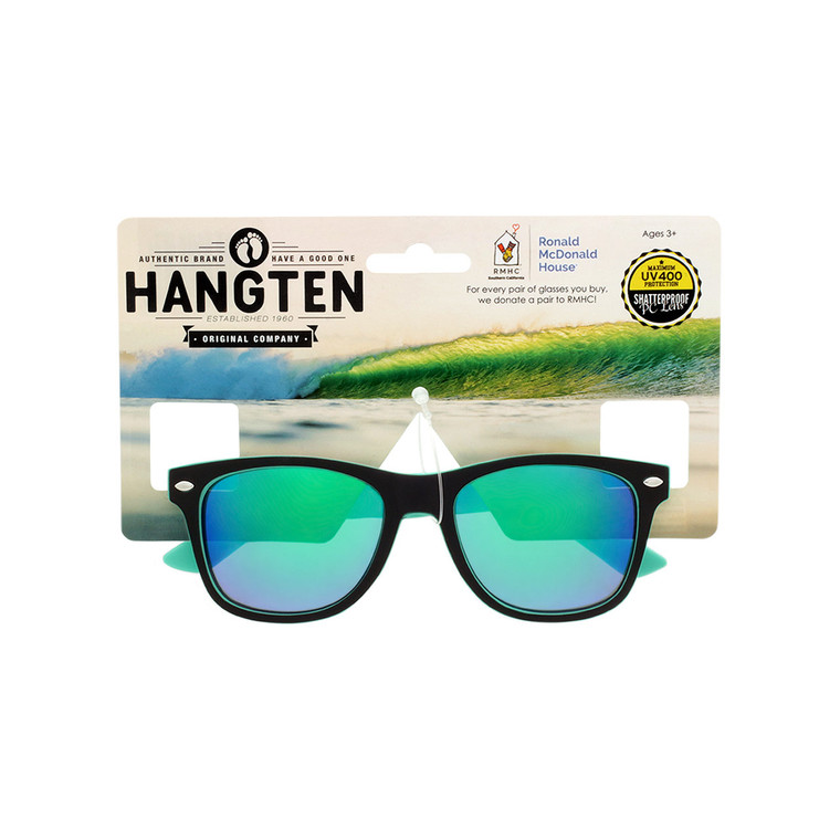 Hang Ten Kids Classic Soft Finish Sunglasses With Hang Card