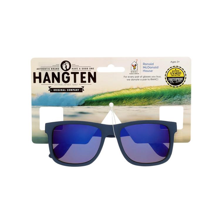 Hang Ten Kids Navy Blue Sunglasses With Hang Card
