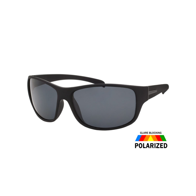 Men's Soft Finish Sport Polarized Sunglasses