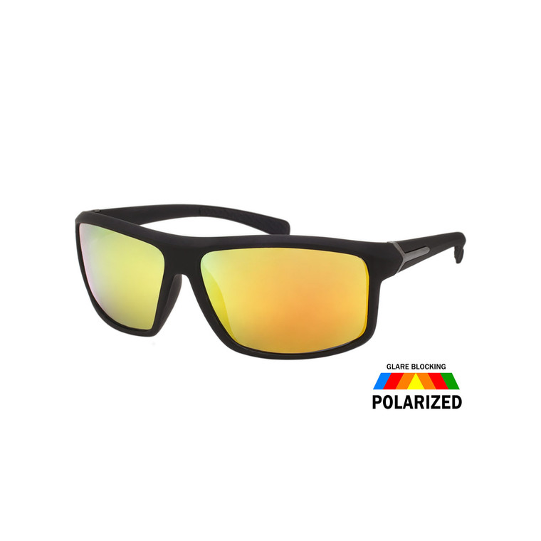 Men's Soft Finish Polarized Sunglasses