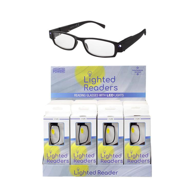 Unisex Lighted Readers + Display