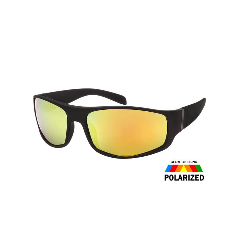 Men's Sport Soft Finish Polarized Sunglasses