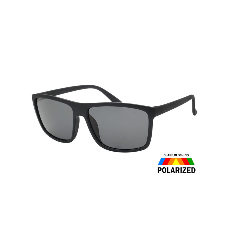 MENS SQUARE POLARIZED SUNGLASSES WHOLESALE I ASSTD. 12 PCS I TPOL21