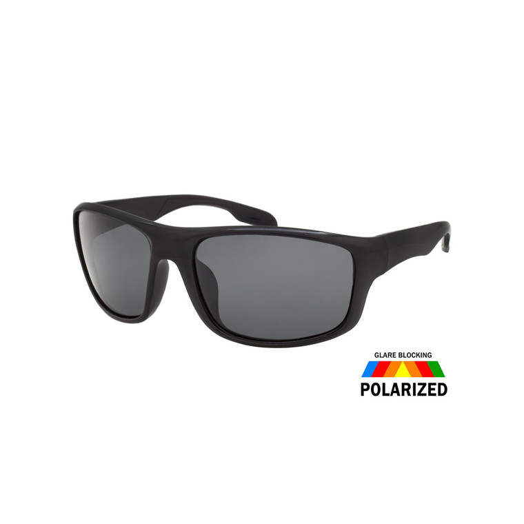 MENS SQUARE SPORT POLARIZED SUNGLASSES WHOLESALE I ASSTD. 12 PCS I TPOL26