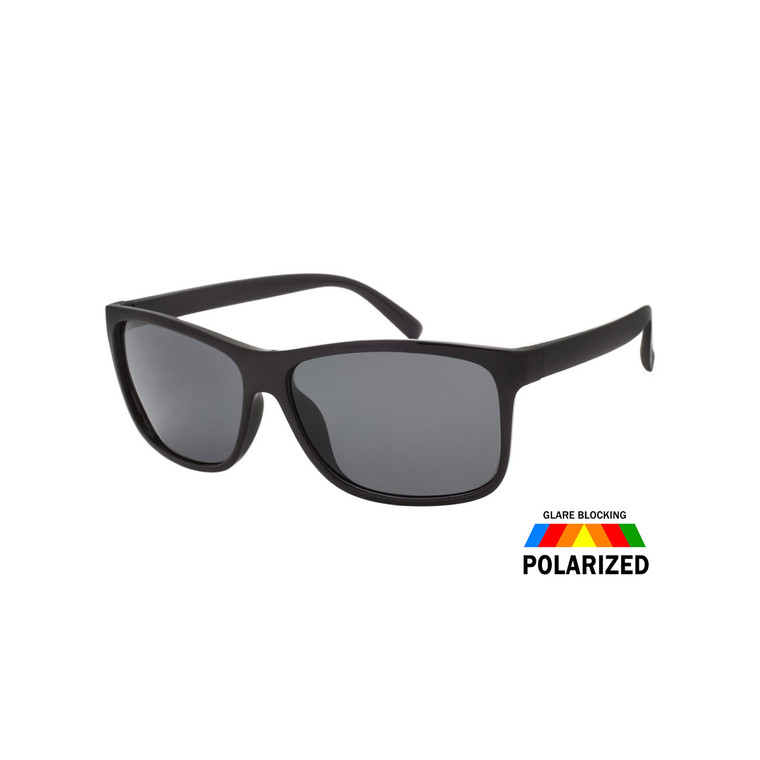 MENS SQUARE POLARIZED SUNGLASSES WHOLESALE I ASSTD. 12 PCS I TPOL28