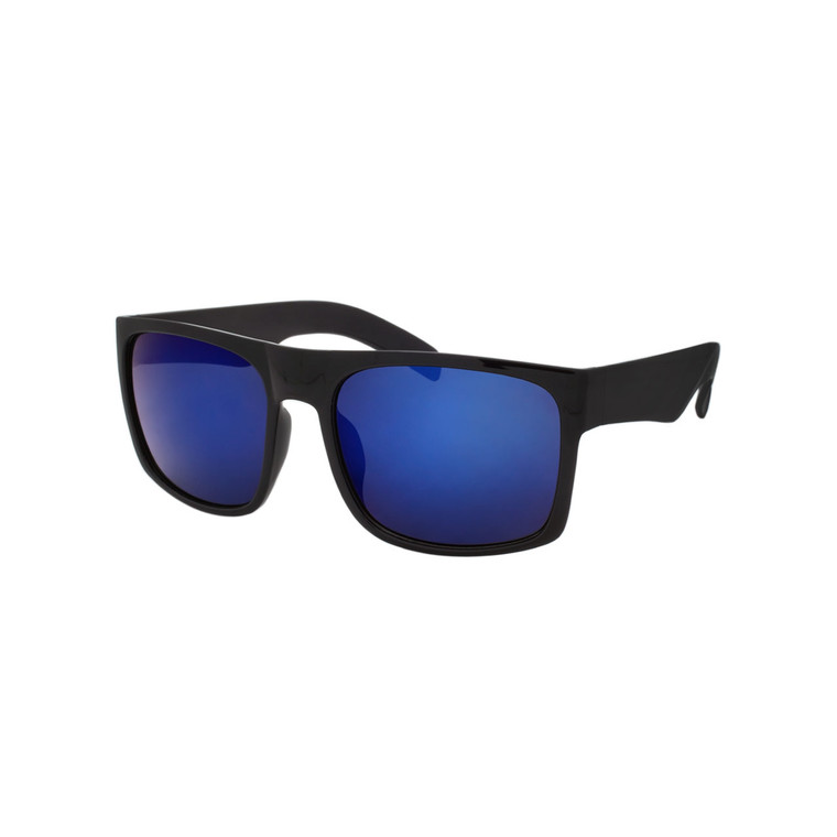 Wholesale Assorted Colors Polycarbonate UV400 Square Sunglasses Men | 1 Dozen with Tags | LF01RV