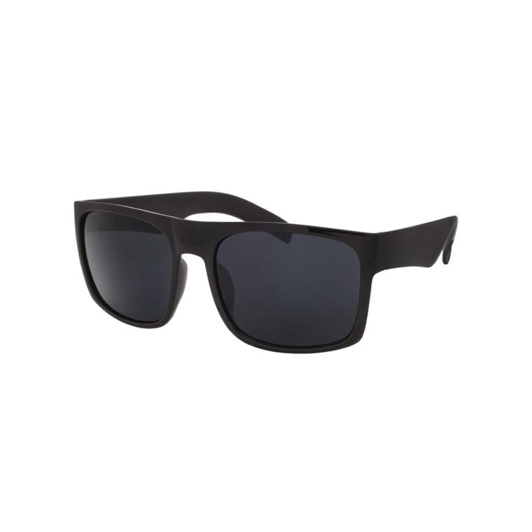 Wholesale Assorted Smoke Polycarbonate UV400 Square Sunglasses Men | 1 Dozen with Tags | LF01SD