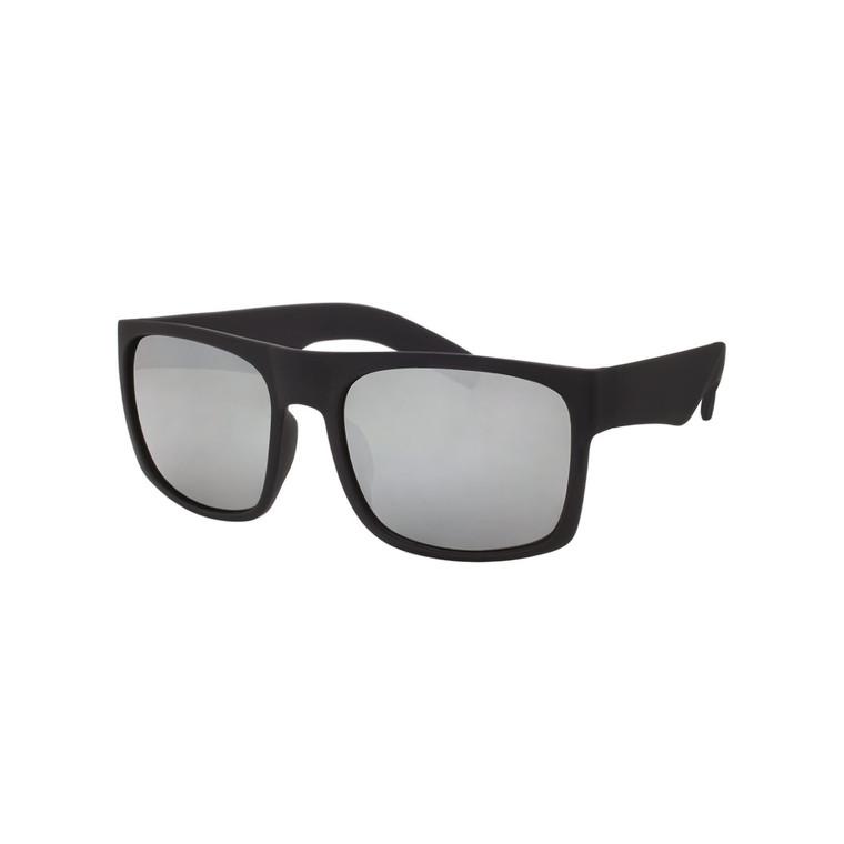 Wholesale Assorted Colors Polycarbonate Soft Finish UV400 Square Sunglasses Men | 1 Dozen with Tags | LF01STRV