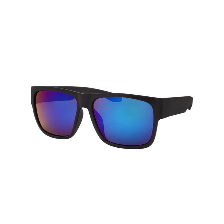 Wholesale Assorted Colors Polycarbonate UV400 Square Sunglasses Men | 1 Dozen with Tags | LF07RV