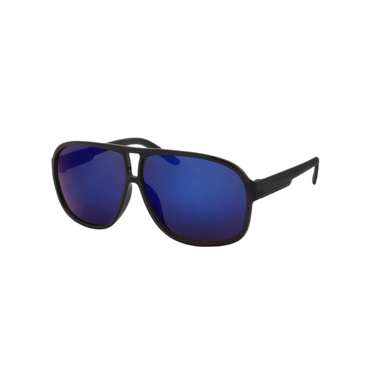 Wholesale Assorted Colors Polycarbonate UV400 Aviator Sunglasses Men | 1 Dozen with Tags | LF13RV