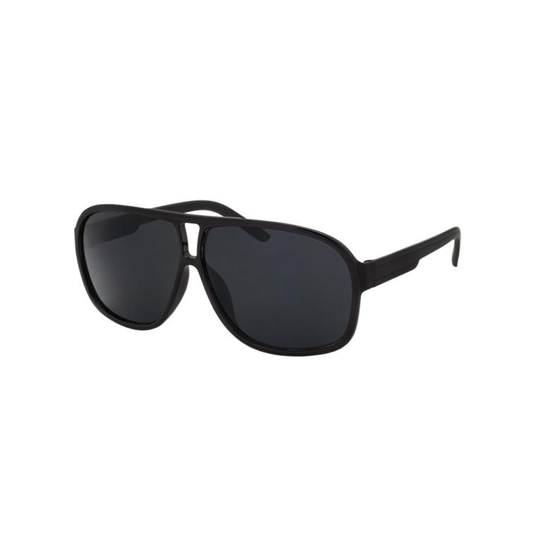 Wholesale Black Styles Plastic UV400 Aviator Sunglasses Mens Bulk | 1 Dozen with Tags | LF13SD