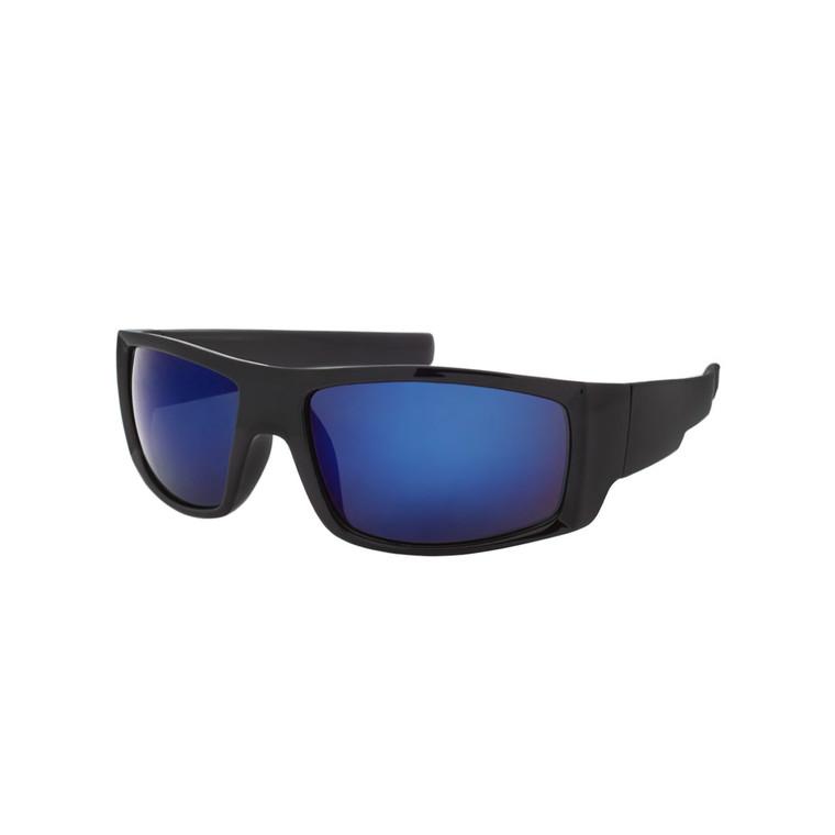 Wholesale Assorted Colors Polycarbonate UV400 Square Sunglasses Men | 1 Dozen with Tags | SP02RV