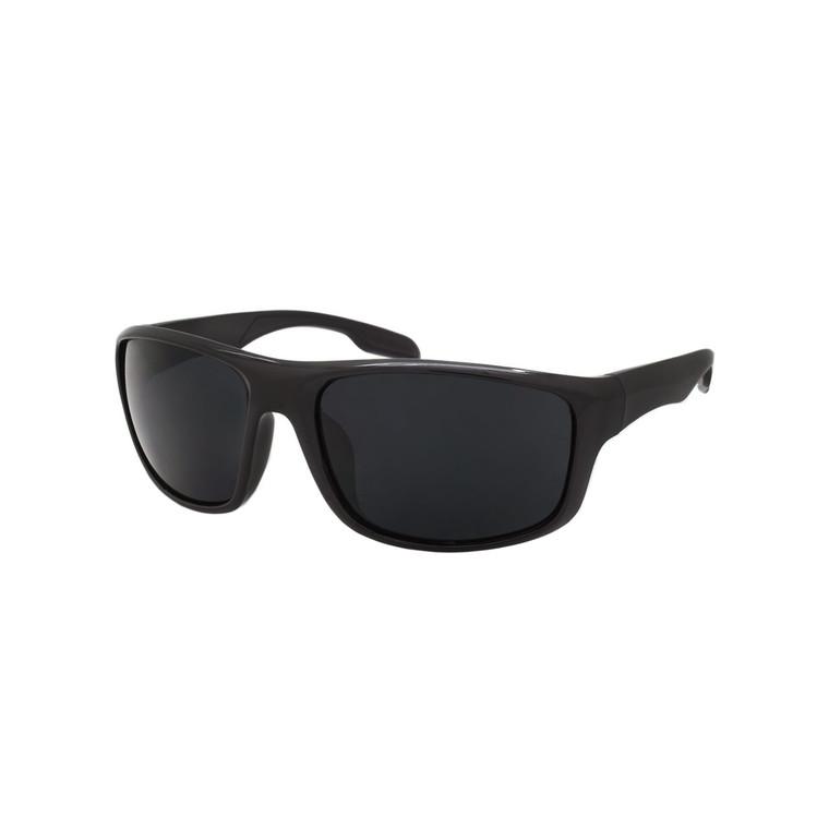 Wholesale Black Color Polycarbonate UV400 Square Sunglasses Men | 1 Dozen with Tags | SP04SD