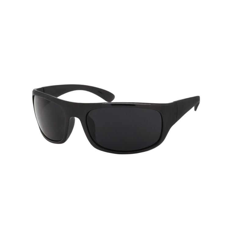 Wholesale Assorted Smoke Polycarbonate UV400 Sport Sunglasses Men | 1 Dozen with Tags | SP06SD