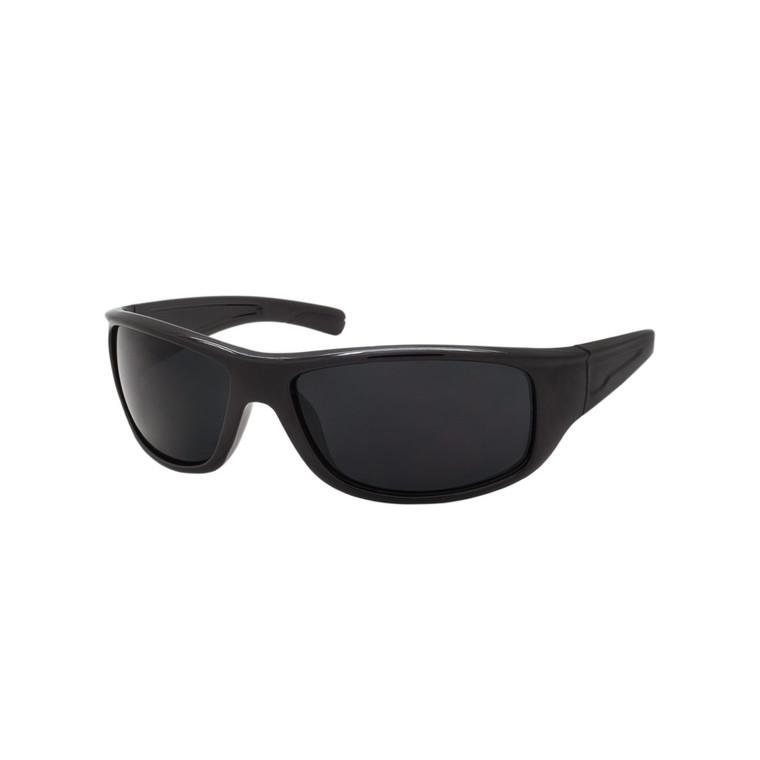 Wholesale Assorted Smoke Polycarbonate UV400 Sport Sunglasses Men | 1 Dozen with Tags | SP08SD