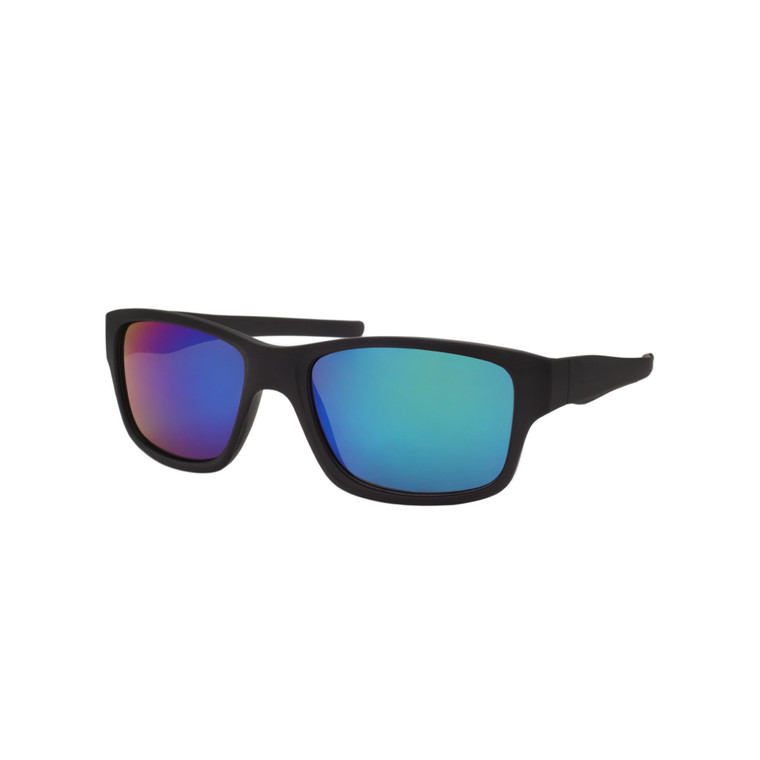 Wholesale Assorted Colors Polycarbonate UV400 Square Sunglasses Men | 1 Dozen with Tags | SP09RV