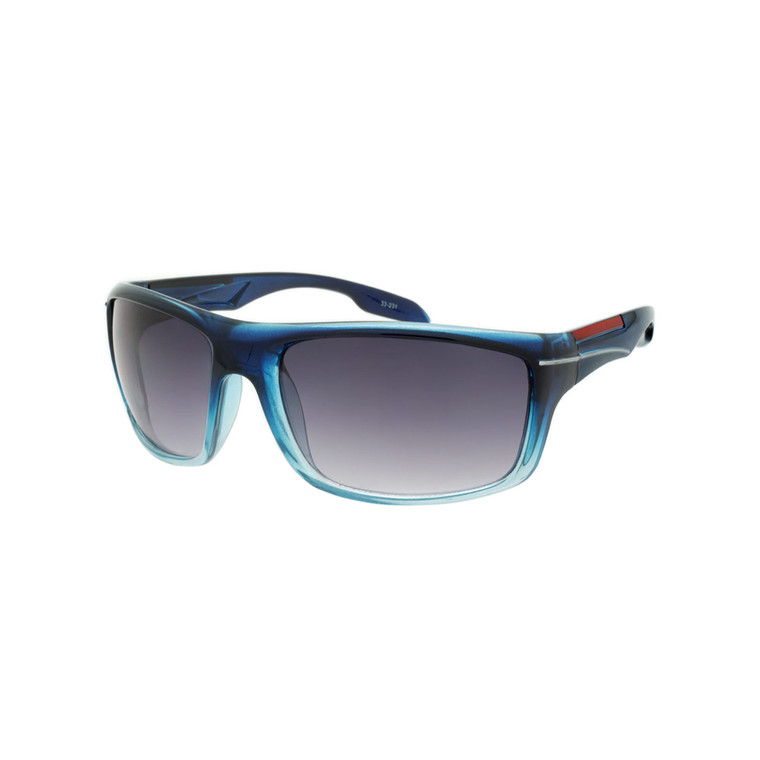 Wholesale Assorted Smoke Polycarbonate UV400 Square Sunglasses Men | 33-231