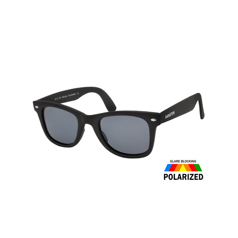 Wholesale Hang Square Frame Polycarbonate UV400 Polarized Square Sunglasses   HTP28B-DZ