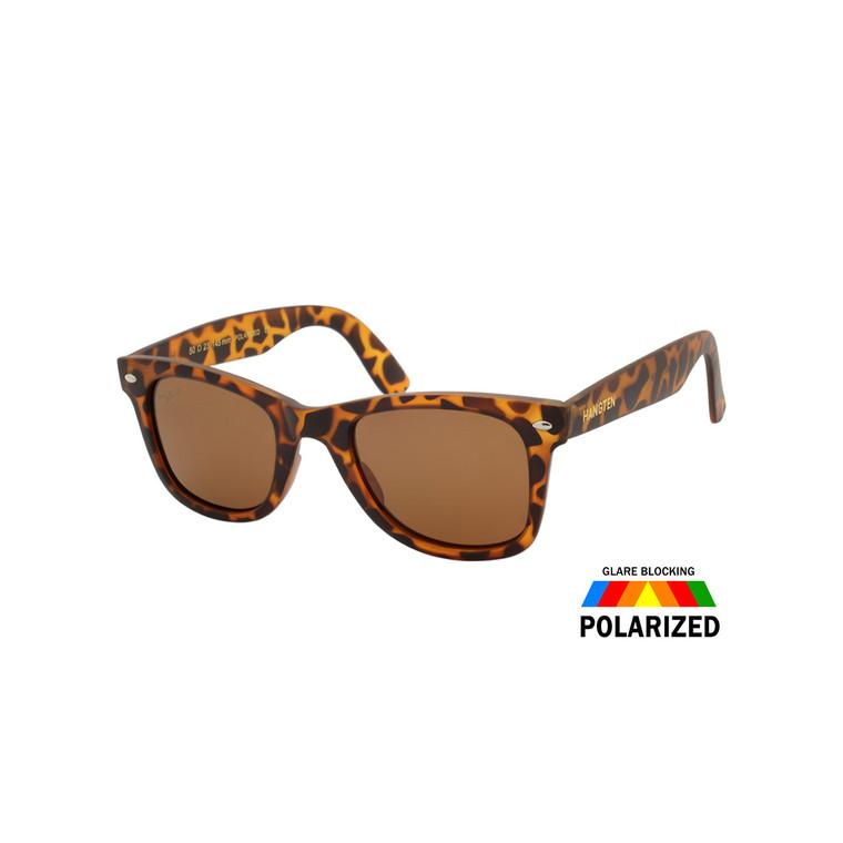 Wholesale Hang Square Frame Polycarbonate UV400 Polarized Square Sunglasses | HTP28C-DZ