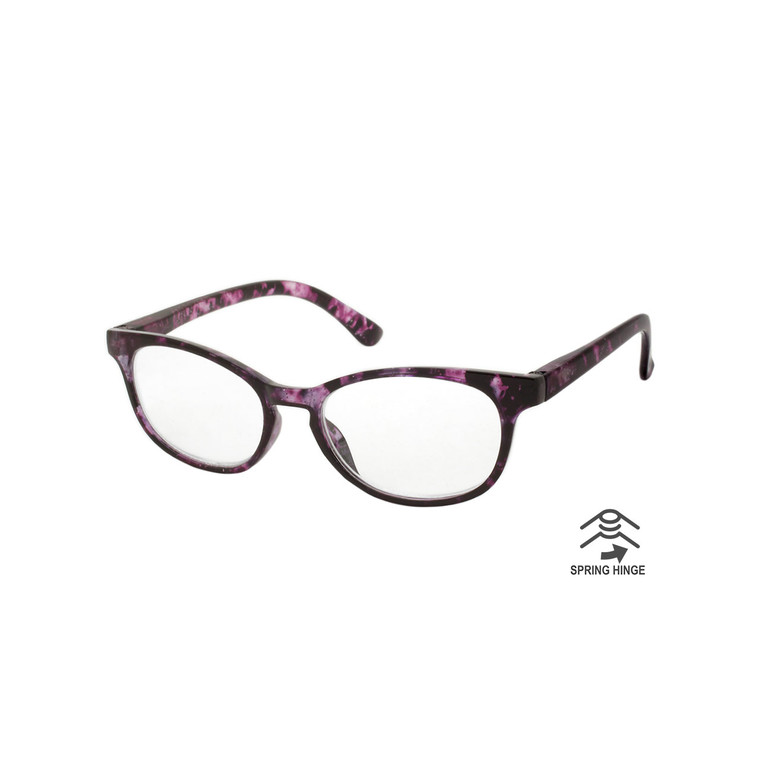 Wholesale Assorted Color Single Power Acrylic  Cat Eye Readers Women | 1 Dozen with Tags | L-1604