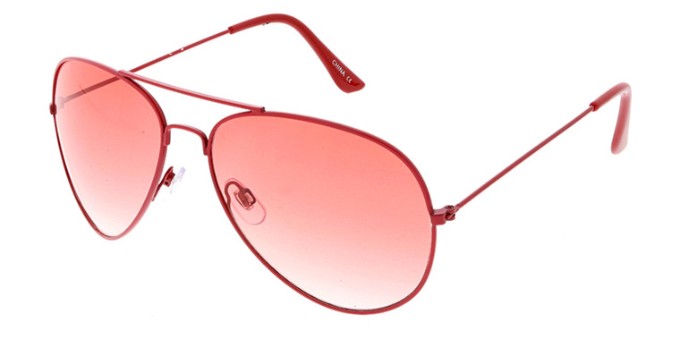 Wholesale UV400 Assorted Color Unisex Fashion Aviator Sunglasses | 3418COL