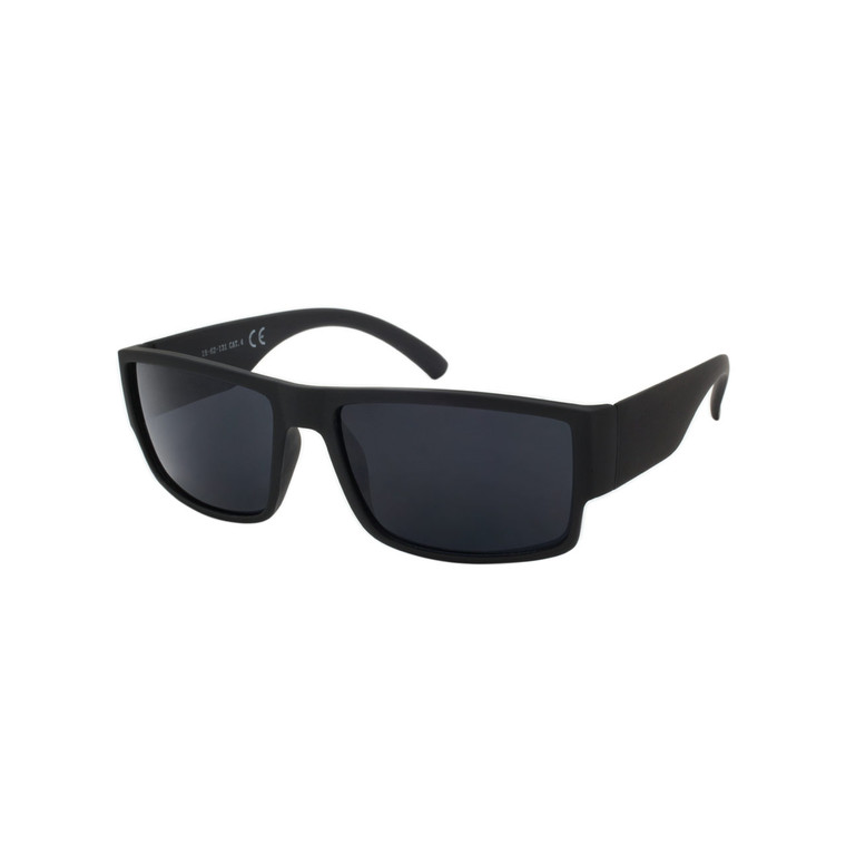 Wholesale Polycarbonate UV400 Square Soft Feel Sunglasses Men | LF08ST