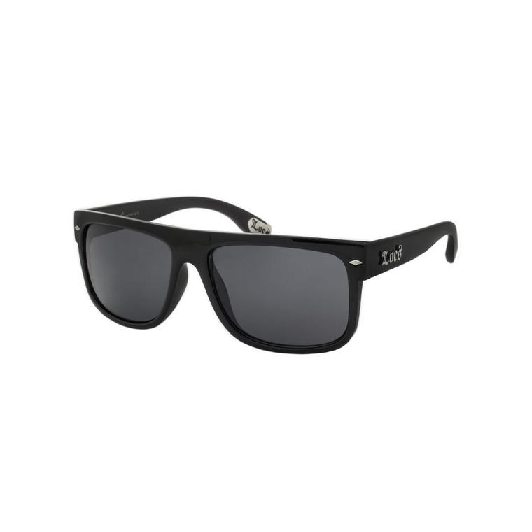 Wholesale Black Polycarbonate UV400 Sport Sunglasses Men | 1 Dozen with Tags | 8LOC91147-BK