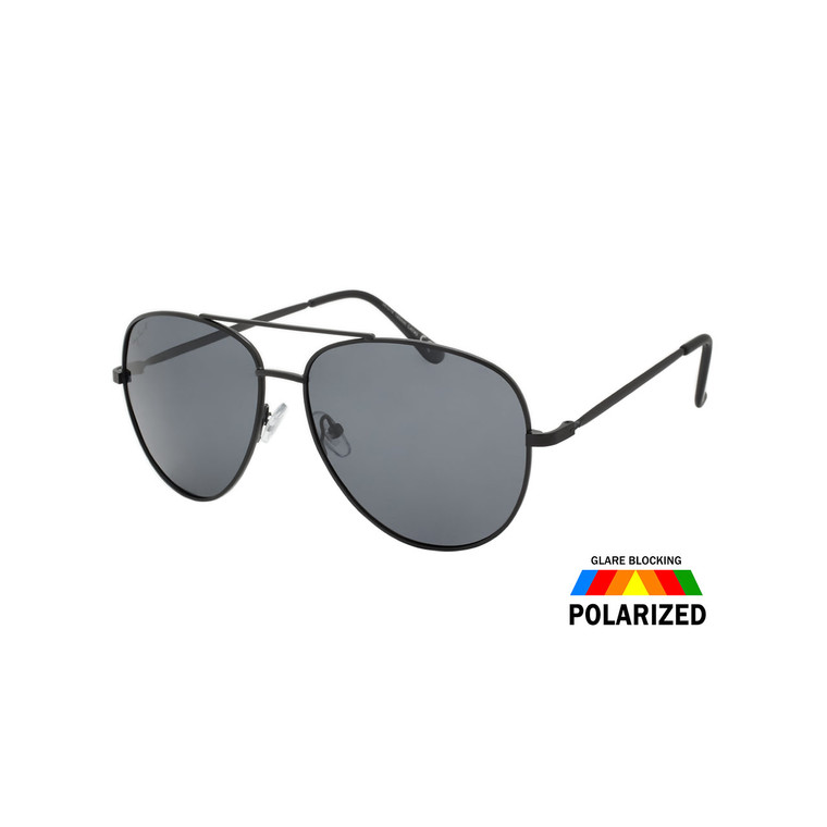 Wholesale Hang Square Metal Frame UV400 Polarized Aviator Sunglasses | HTP29B-DZ