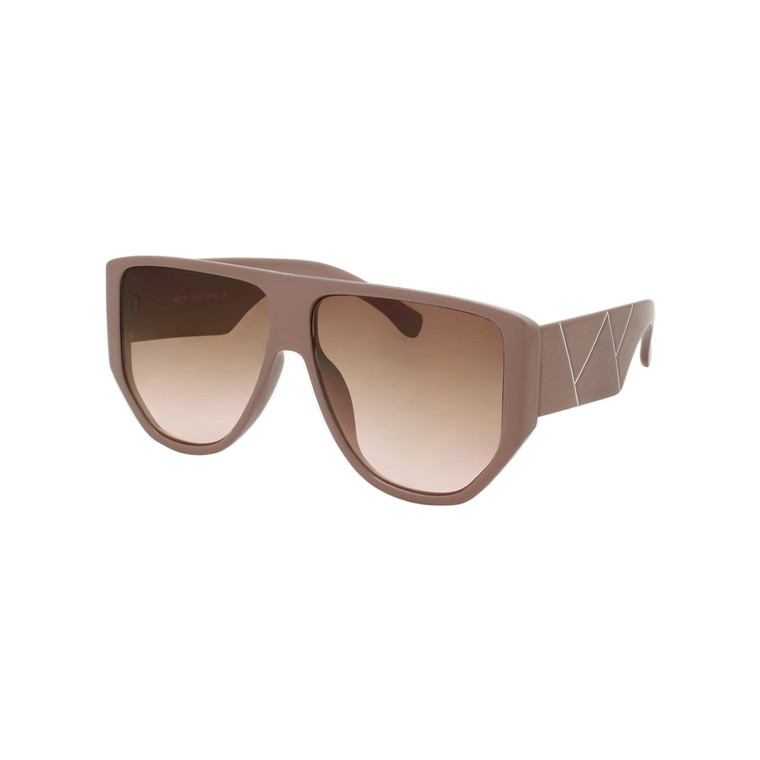 Wholesale Assorted Colors Polycarbonate UV400 Aviator Sunglasses Women | 1 Dozen with Tags | DS247