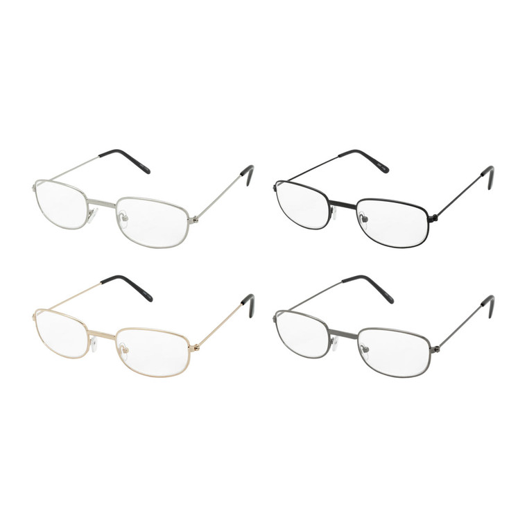 Wholesale Assorted Power Metal Round Readers Unisex | 1 Dozen with Tags | J357ASST