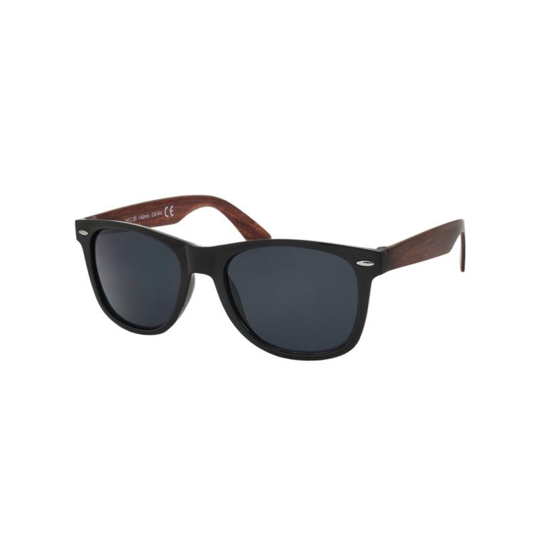 Wholesale Black Plastic Classic Square Sunglasses Unisex Bulk | 1Dozen with Tags | W2WD