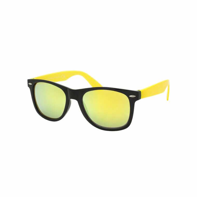 Wholesale Multicolor Plastic Classic Square Sunglasses Unisex Bulk | 1Dozen with Tags | W2CTCM