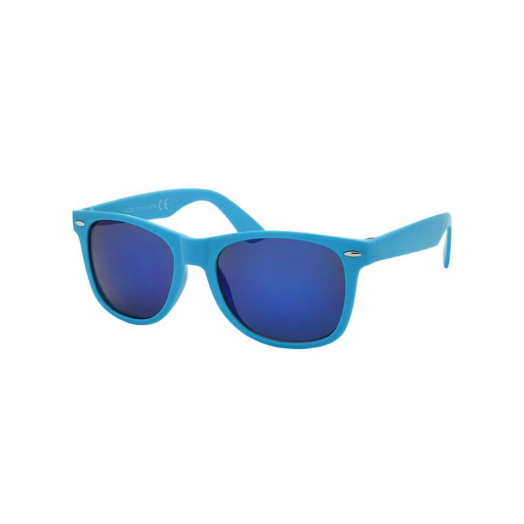 Wholesale Multicolor Plastic Classic Square Sunglasses Unisex Bulk | 1Dozen with Tags | W2CCM
