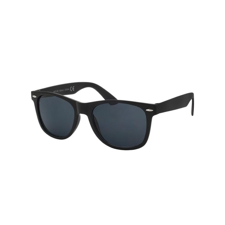 Wholesale Black Polycarbonate UV400 Classic Oversized Sunglasses Unisex | 1 Dozen with Tags | W2BLK