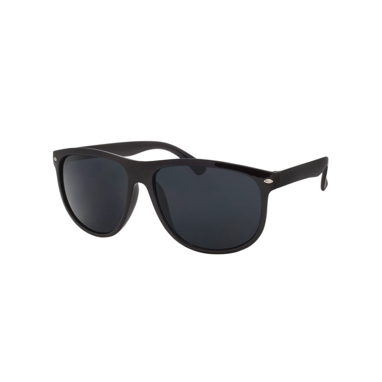 Wholesale Assorted Smoke Polycarbonate UV400 Square Sunglasses Men | 1 Dozen with Tags | LF03SD