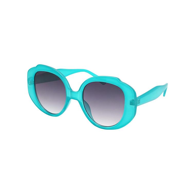 Wholesale Assorted Colors Plastic UV400 Dazey Shades Square Round Fashion Sunglasses Womens Bulk   1 Dozen with Tags   DS232