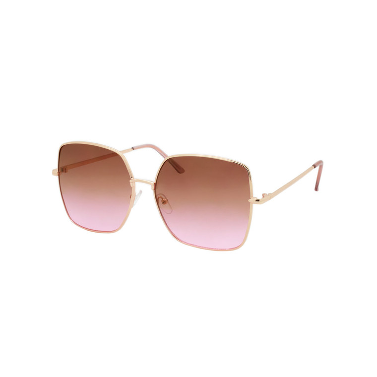 Wholesale Metal Assorted Colors UV400 Cat Eye Fashion Sunglasses Women | 1 Dozen with Tags | DS219