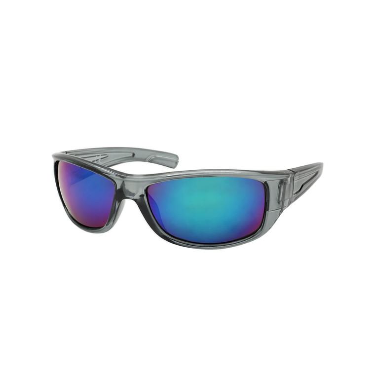 Wholesale Assorted Colors Polycarbonate UV400 Square Sunglasses Men   1 Dozen with Tags   SP08RV