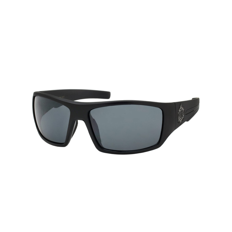 Wholesale Assorted Colors Polycarbonate UV400 Square Chopper Sunglasses Men   1 Dozen with Tags   8CP6724