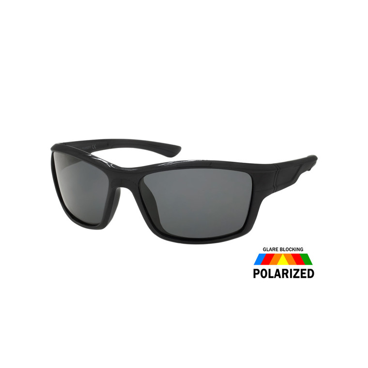 MENS SPORT SUNGLASSES  WHOLESALE I ASST. 12 PCS I CC32POL