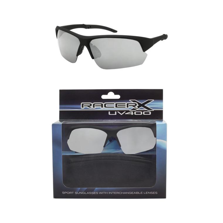 Wholesale Polycarbonate UV400 Mens Sport Sunglasses with Case | 20 Pieces per Case| RCXBX02B