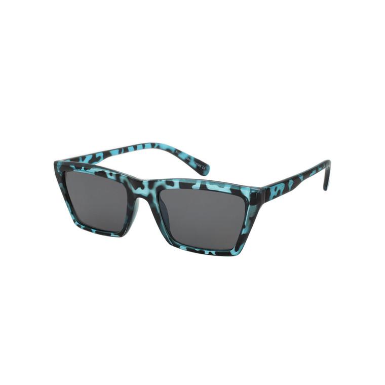 Wholesale Assorted Colors Polycarbonate UV400 Square Fashion Sunglasses Women | 1 Dozen with Tags | DS272