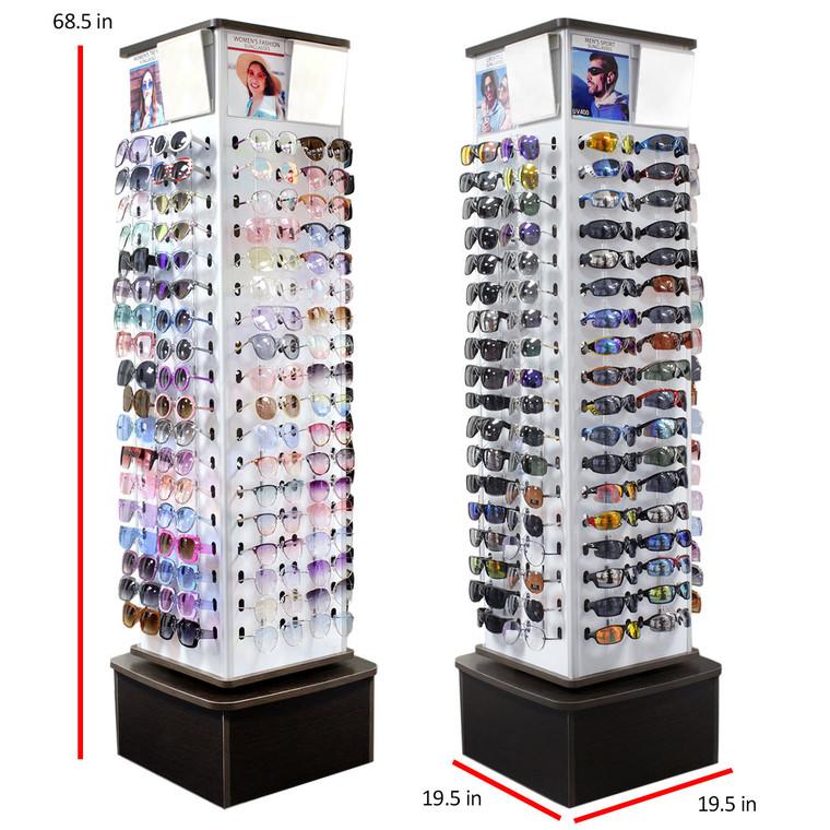Wholesale Mirrored Eyewear Display 144 Pieces   FD144-99