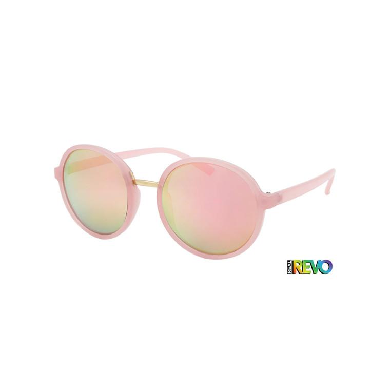 Wholesale Assorted Colors Plastic UV400 Dazey Shades Round Fashion Sunglasses Womens Bulk | 1 Dozen with Tags | DS281