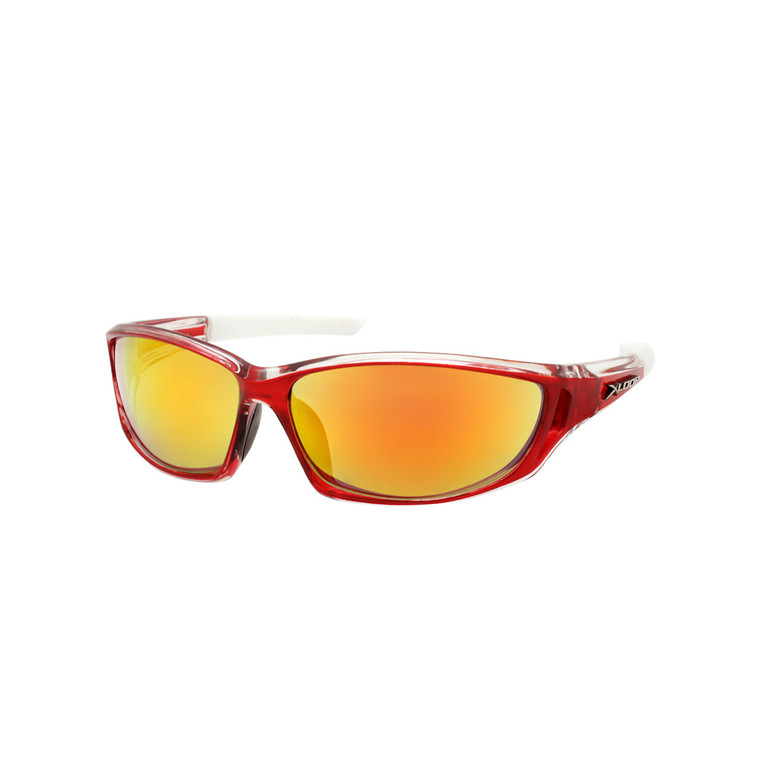 Wholesale Assorted Colors Polycarbonate XLoop UV400  Sport Sunglasses Men Bulk | 1 Dozen with Tags | 8X2600